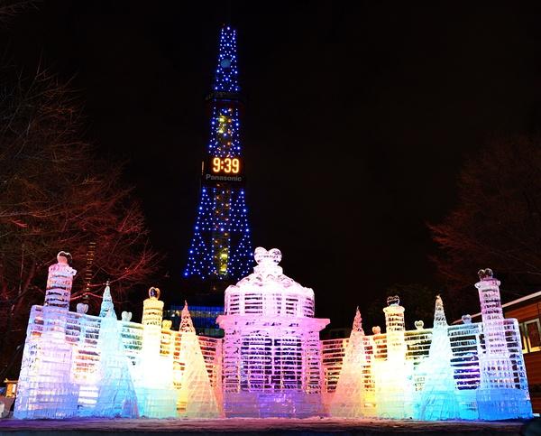 明年想去北海道 札幌冰雪节 有去的可以参考这个图片